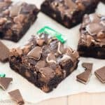 Gluten Free Andes Mint Brownies
