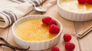 Dairy Free Crème Brulee