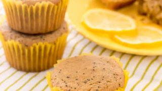 Almond Flour Lemon Poppy Seed Muffins