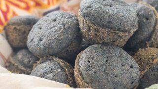 Gluten Free Blue Corn Muffins
