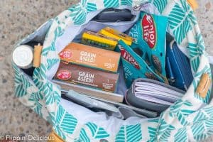 I try to always have a well-stocked purse, because as a mom, gluten-free-eater, and with a dairy-free preschooler, there are a few things that make my life so much easier. Here are 6 things that are (almost) always in my celiac/allergy mom purse!