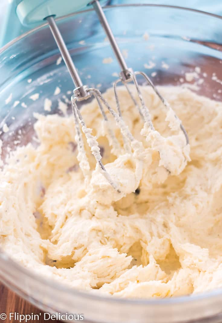 Vegan Buttercream Frosting- sweet, fluffy, and perfectly pipe-able, this dairy free buttercream frosting is my go-to for topping cookies and cakes. It makes a mean cupcake, too.