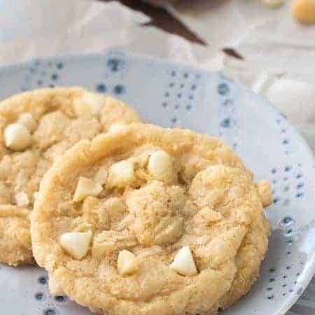 Gluten Free White Chocolate Macadamia Nut Cookies Recipe