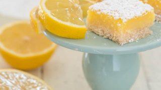 Gluten Free Lemon Bars Recipe