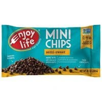 Enjoy Life Semi Sweet Mini Chips, 10 Ounce Bag