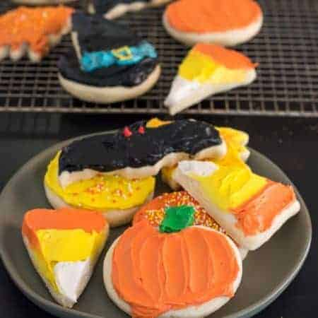Gluten Free Halloween Sugar Cookies