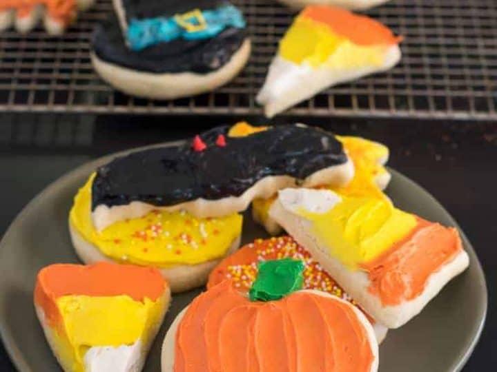 Gluten Free Halloween Sugar Cookie Recipe