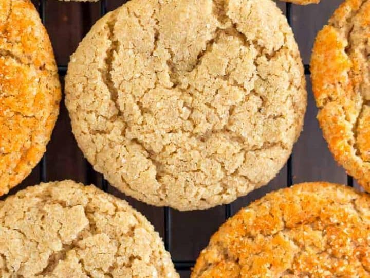 Gluten Free Pumpkin Sugar Cookies Recipe