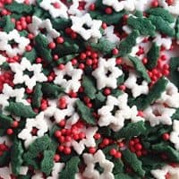 Christmas Eve Gluten GMO Nut Dairy Soy Free Cake Decoration