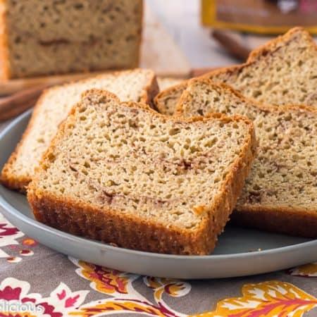 Gluten Free Cinnamon Bread Recipe