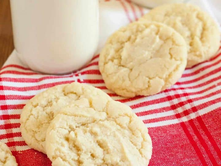 Gluten Free Drop Sugar Cookies Recipe