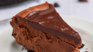Gluten-Free Death by Chocolate Cheesecake