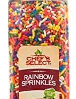 Certified GF Rainbow Sprinkles Jimmies 14oz | Value Size | Gluten Free Certified