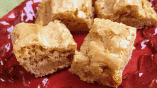 Gluten Free Brown Sugar Cookie Bars