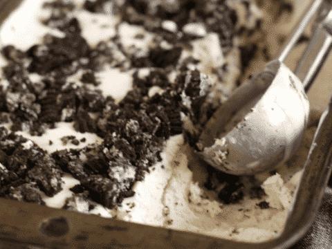 Gluten Free Cookies and Cream Ice Cream