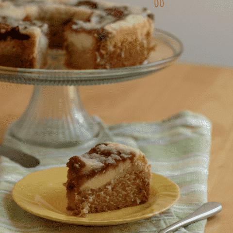 Gluten free Raspberry Cream Cheese Coffee Cake