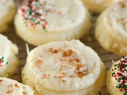 Gluten-Free Eggnog Sugar Cookies
