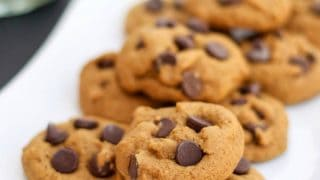 Gluten-Free Gingerbread Chocolate Chip Cookies