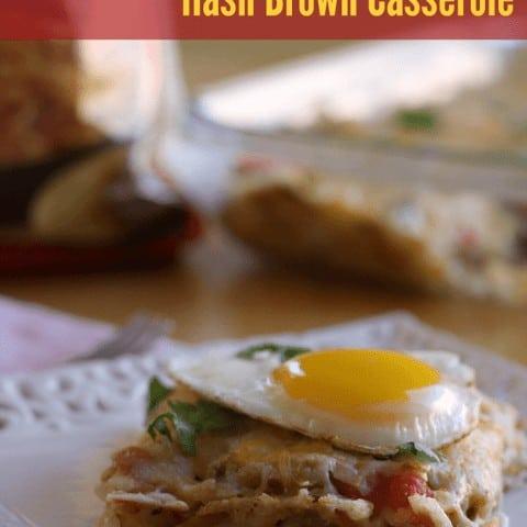 Huevos Rancheros Hashbrowns Casserole