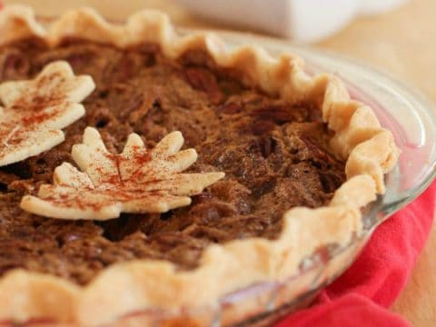 Red Chile Spiced Pecan Pie