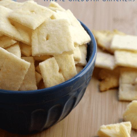 White Cheddar Crackers (Cheez-it Copycat Recipe)