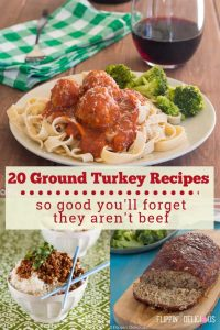 20 Ground Turkey Recipes so good you'll forget they aren't beef