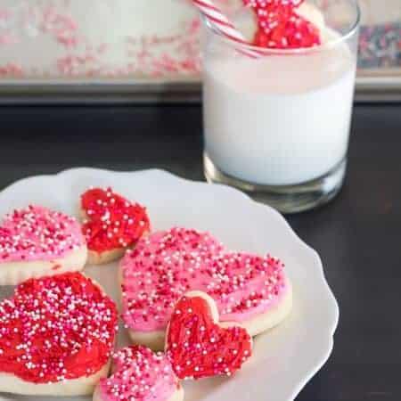 Valentine's Day Gluten Free Sugar Cookies