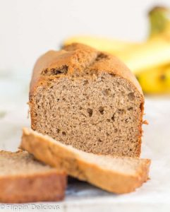 Gluten Free Banana Bread- One Bowl, Dairy Free