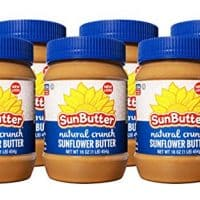 SunButter Crunchy Sunflower Butter (Pack of 6)