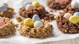 Vegan Gluten Free Birds Nest Cookies