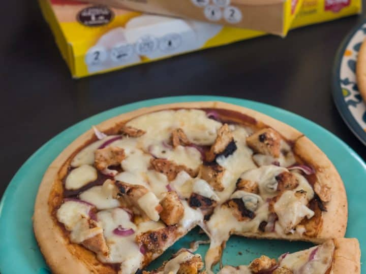 Barbecue Chicken Gluten Free Grilled Pizza