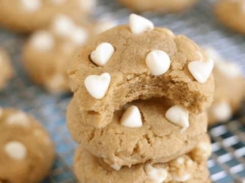 Soft Gluten-Free Peanut Butter Cookies