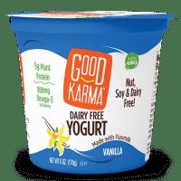 Vanilla Dairy Free Yogurt - Good Karma Foods