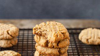 Gluten Free SunButter Cookies (Vegan)