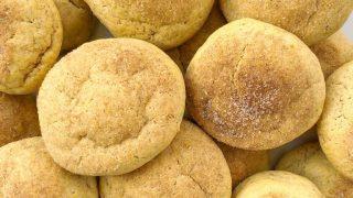 Vegan Pumpkin Spice Sugar Cookies
