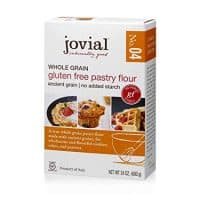 Jovial Pastry Flour,Whl Grn,Gf 24 Oz (Pack Of 6)