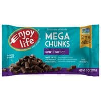 Enjoy Life Mega Semi-Sweet Chocolate Chunks, 10 oz