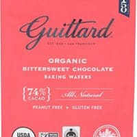 Guittard, Baking Wafer Bittersweet 74% Organic, 12 Ounce