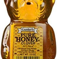 Gunter's Pure Clover Honey Bears, 12 Oz (Pack of 2)