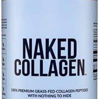 Naked Collagen - Collagen Peptides Protein Powder, 60 Servings Pasture-Raised, Grass-Fed Hydrolyzed Collagen Supplement | Paleo Friendly, Non-GMO, Keto, Gluten Free | Unflavored 20oz