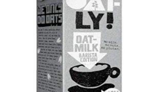 #3 Oatmilk for plant based lattes, Oatly Oat Milk Barista Edition