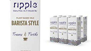 #1 BEST Dairy Free Milk for Lattes.... Ripple Barista Style Vegan Milk
