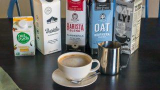 The dairy free barista milk I use on the daily.... Califia Farms Original Almondmilk Barista Blend