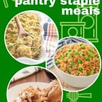 gluten free pantry staple meals